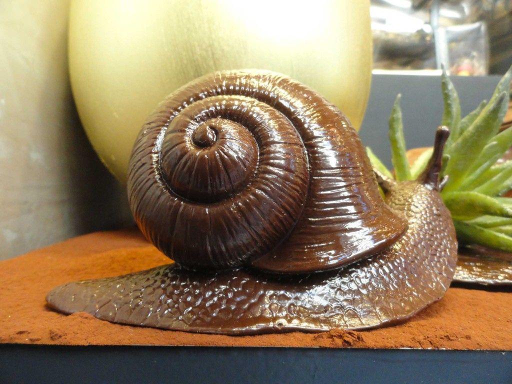 sculture-di-cioccolato-chiocciola