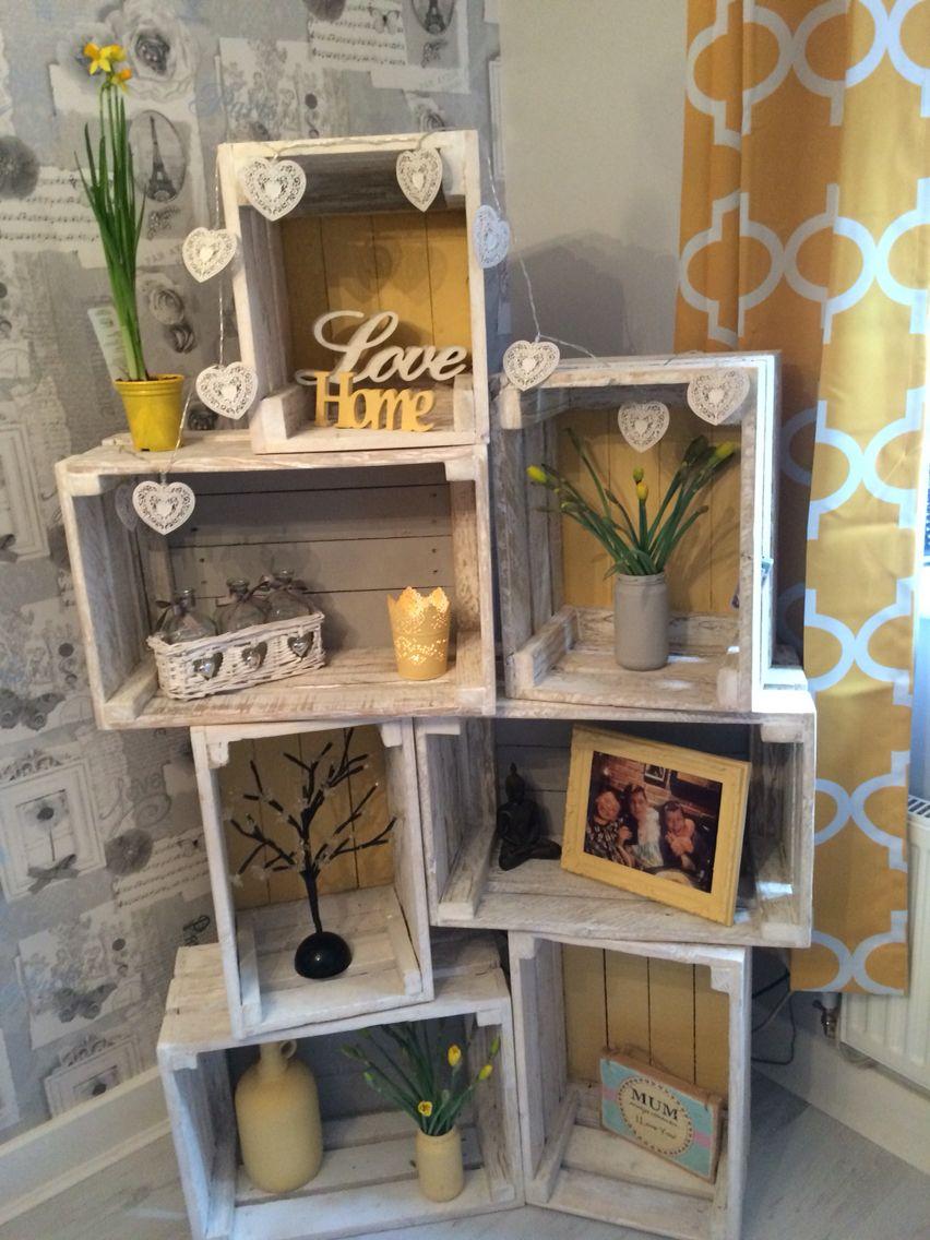 Cassette Della Frutta Legno cassette di legno per decorare casa! 20 idee bellissime a