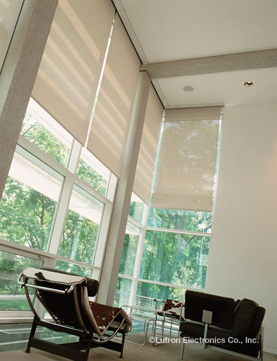 Install Lutron Shades For Your Livingroom To Protect
