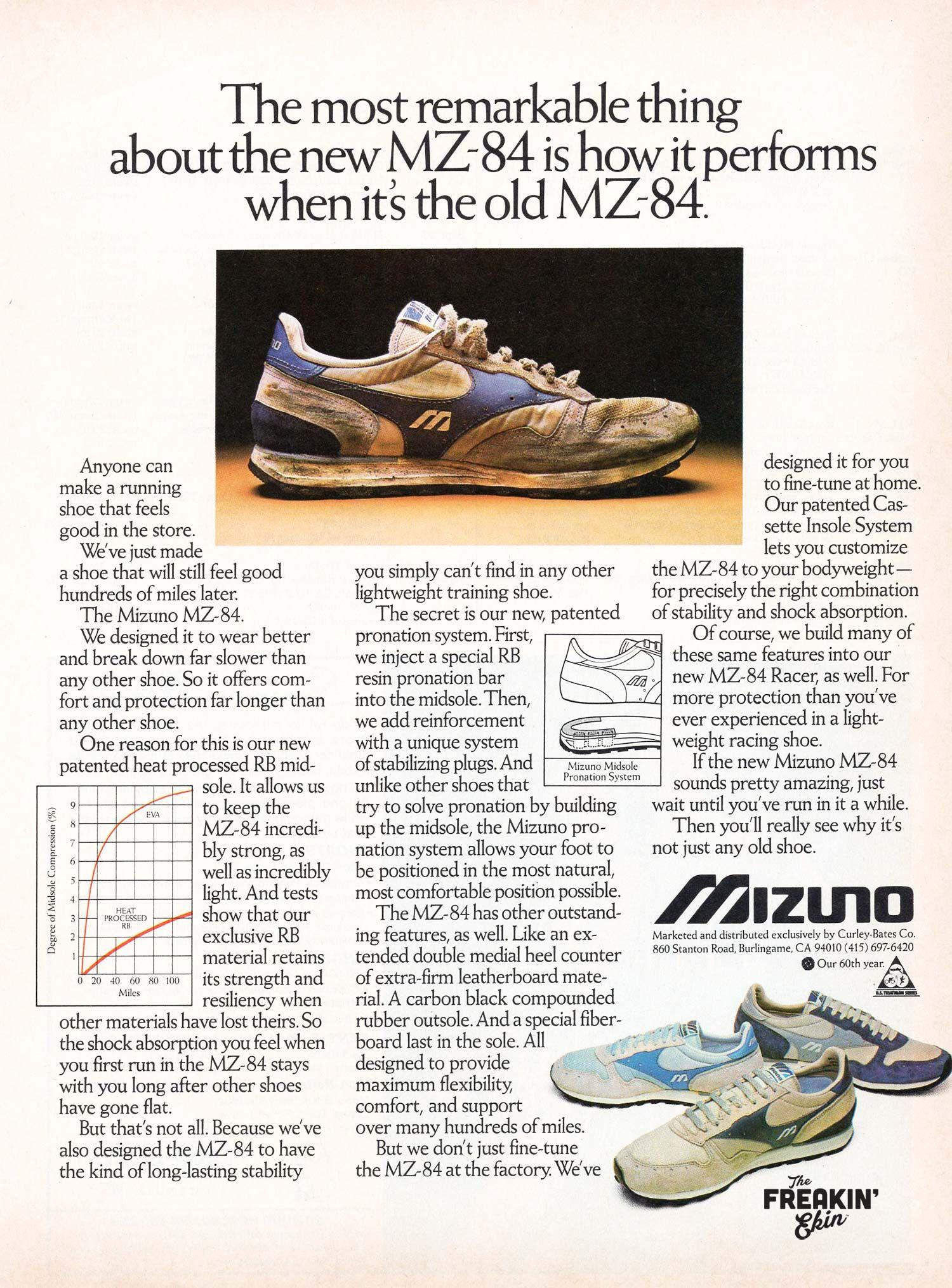 best mizuno road running shoes 70's