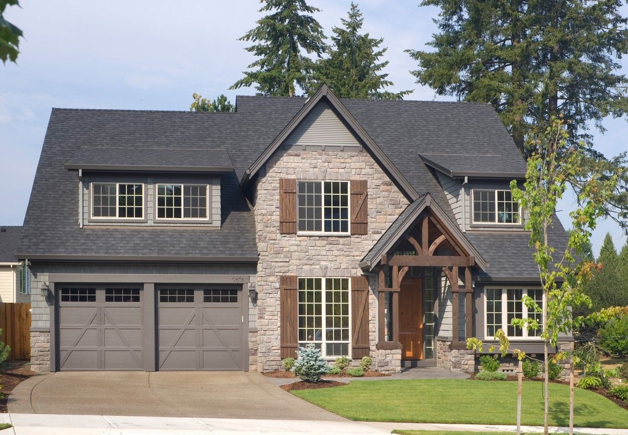 Tall, Dark & Handsome in Two Versions House plans