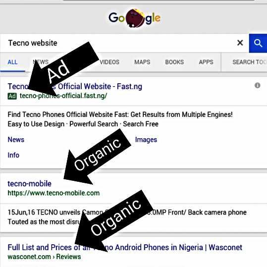 Google SERP—A quick guide for Nigeria Internet users