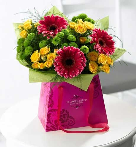flowers 2012 summer brights gift bag s day