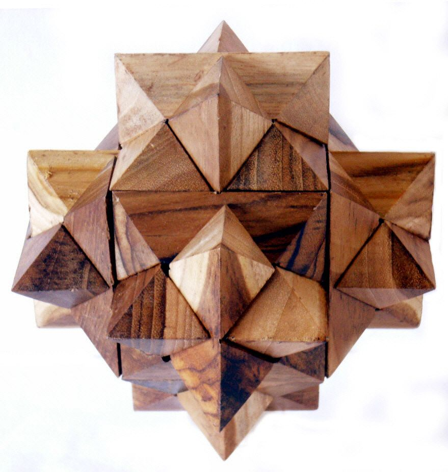 Star Crystal Puzzle Wooden Puzzles Wood Puzzles Wood Projects