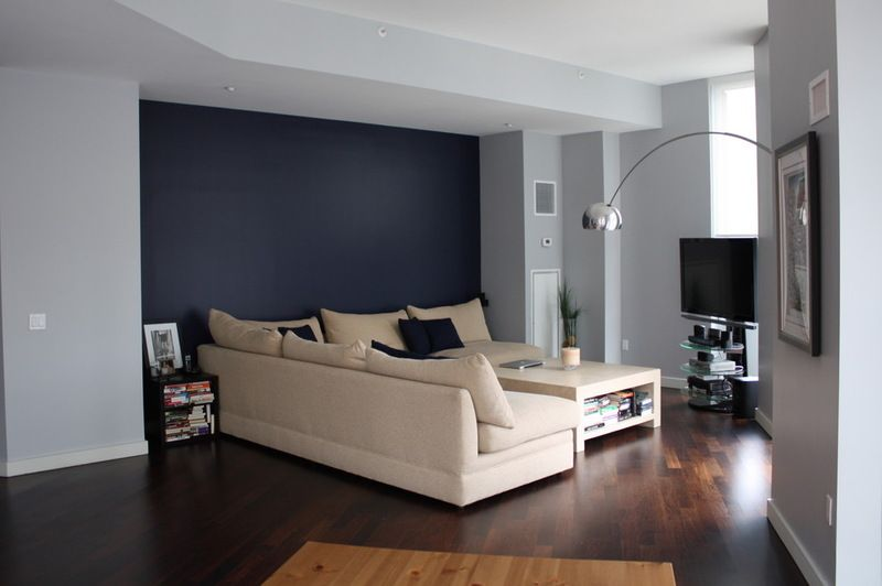 Grey And Dark Blue Living Room awesome relaxing wall colors ideas for your interior house design