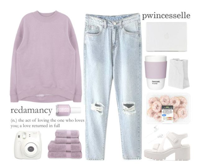 """""""i currently am obsessed with this lavender colour"""" by pwincesselle ❤ liked on Polyvore featuring Vagabond, Pantone, Christy, Essie, Rosenthal, Sony, women's clothing, women's fashion, women and female"""