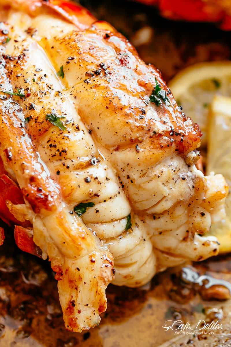 Butter Seared Lobster Tails