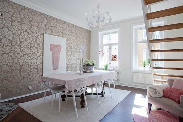 Decoration Penthouse Scandinavian Spring Party Decorations Small
