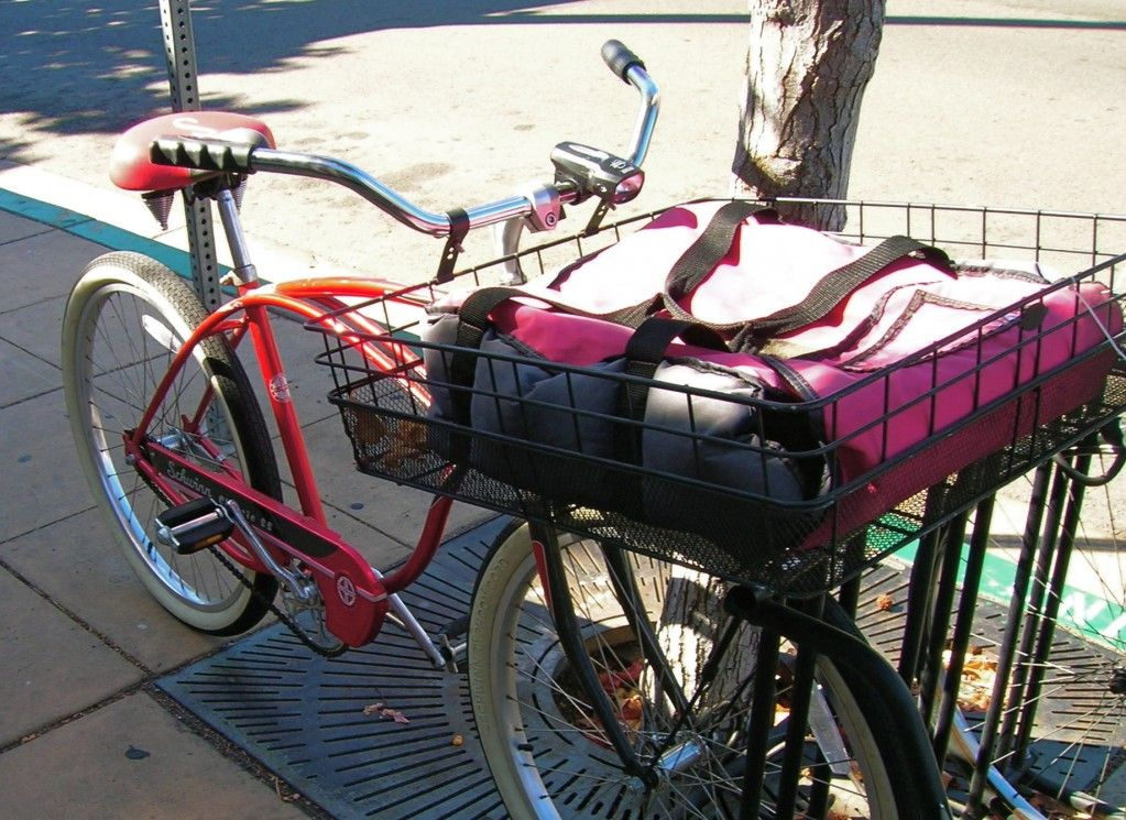 Pizza Delivery Service Utility Cycling Bicycle Vintage Bikes