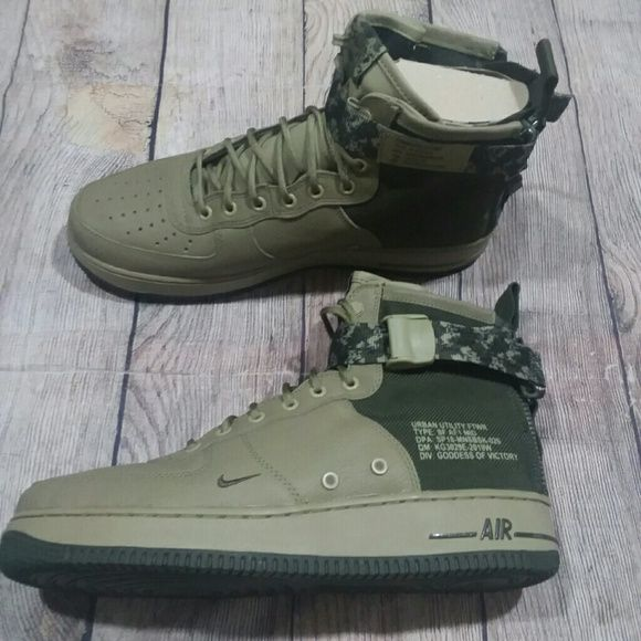 online store a9e68 745e2 New Nike SF Air Force 1 Mid Camo Sneakers Nike SF Air Force 1 Mid -