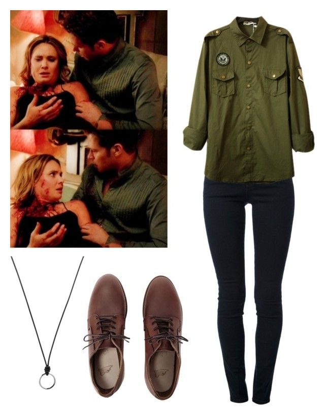 """""""Klaus Mikaelson 3x09 - The Originals"""" by shadyannon ❤ liked on Polyvore featuring мода, STELLA McCARTNEY, Red Wing и FOSSIL"""
