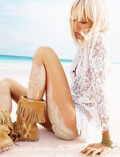lace and moccasins
