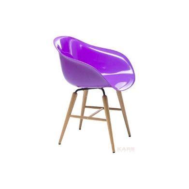 Fauteuil Forum Violet Kare Design Chaise Avec Accoudoirs DAndras