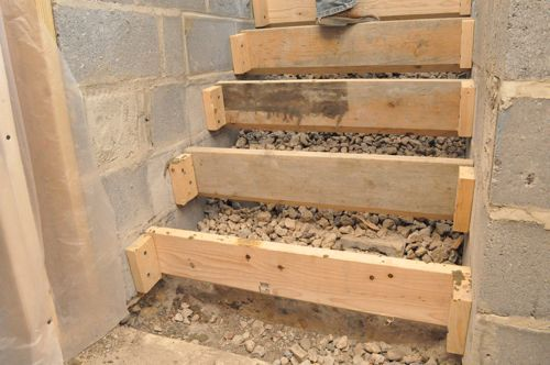 Best How To Pour Concrete Stairs Concrete Stairs Poured 400 x 300