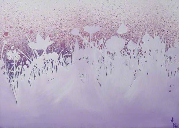 lilac painting - Google Search