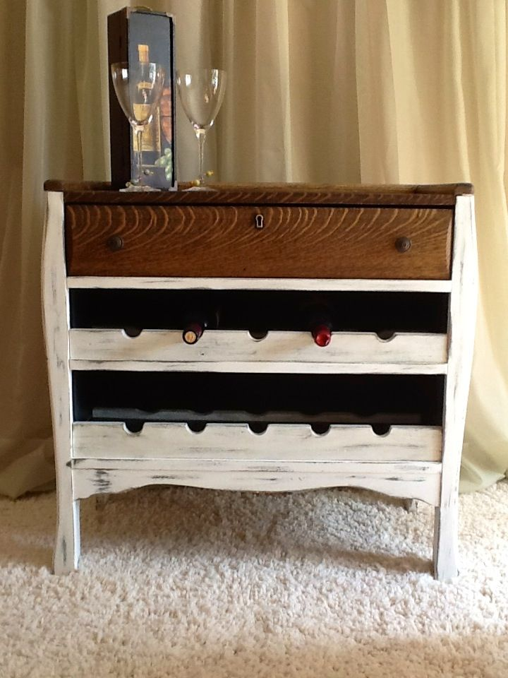 Rustic Wine Cabinet. I Want It!