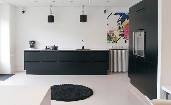 Küchen Design - skandinavische Einbauküche Wohnraum Pinterest - küchenstudio kirchheim teck