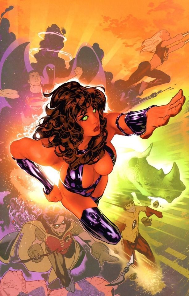 Teen Titans by Adam Hughes