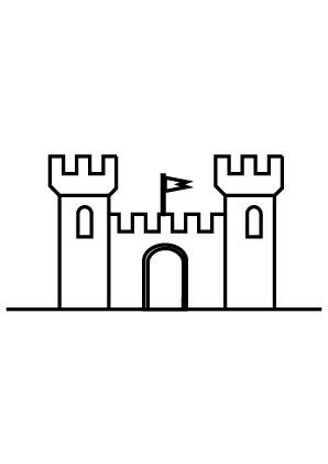 Ausmalbild Burg Ausmalen Ausdrucken Ausmalbilder Zum Drucken