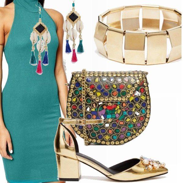 Photo of Verde e oro: outfit donna Trendy per tutti i giorni e serata fuori | Bantoa