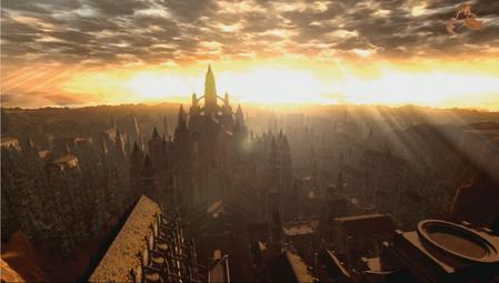 Anor Londo Dark Souls Dark Souls 3 Fantasy Landscape