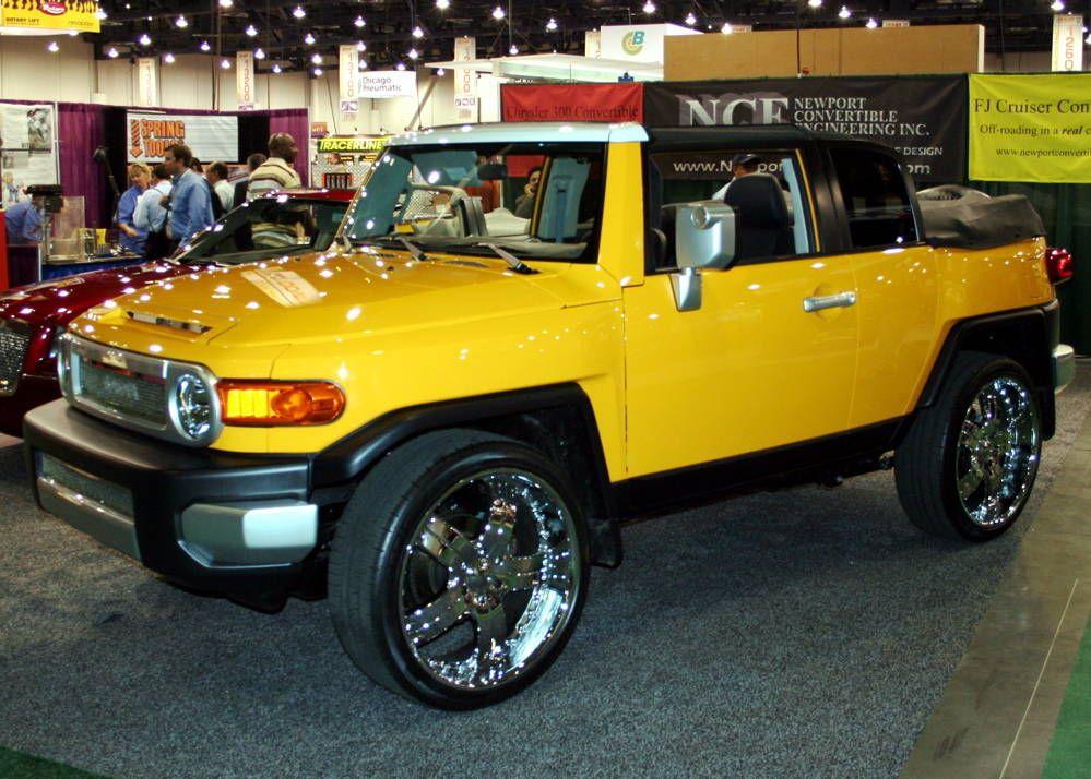 Toyota Fj Cruiser · Convertible · Convertible FJ