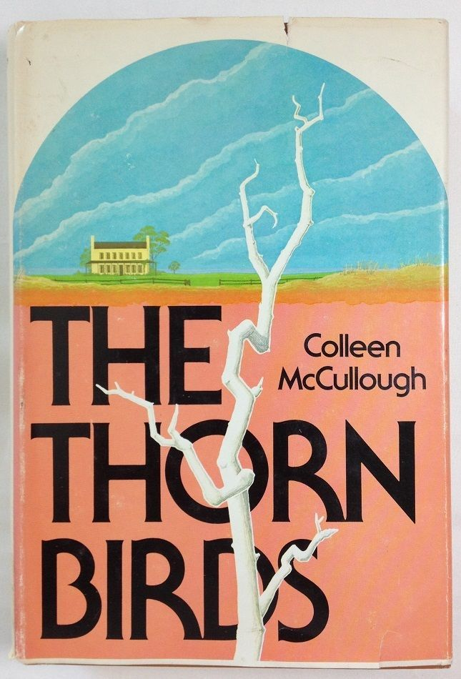 The Thorn Birds by Colleen McCullough (1977, Hardcover with Dust Jacket) BOMC