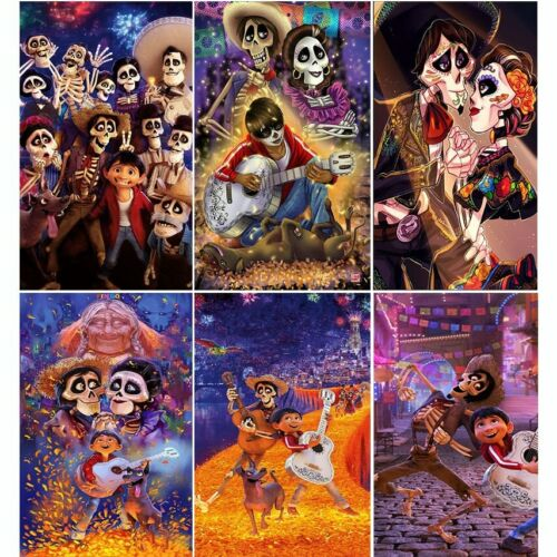 Halloween Jack DIY Diamond Painting 5D Full SquareRound Drill Poster Wall Decor Gift Mosaic Embroidery Resin Craft Cross Stitch Kits