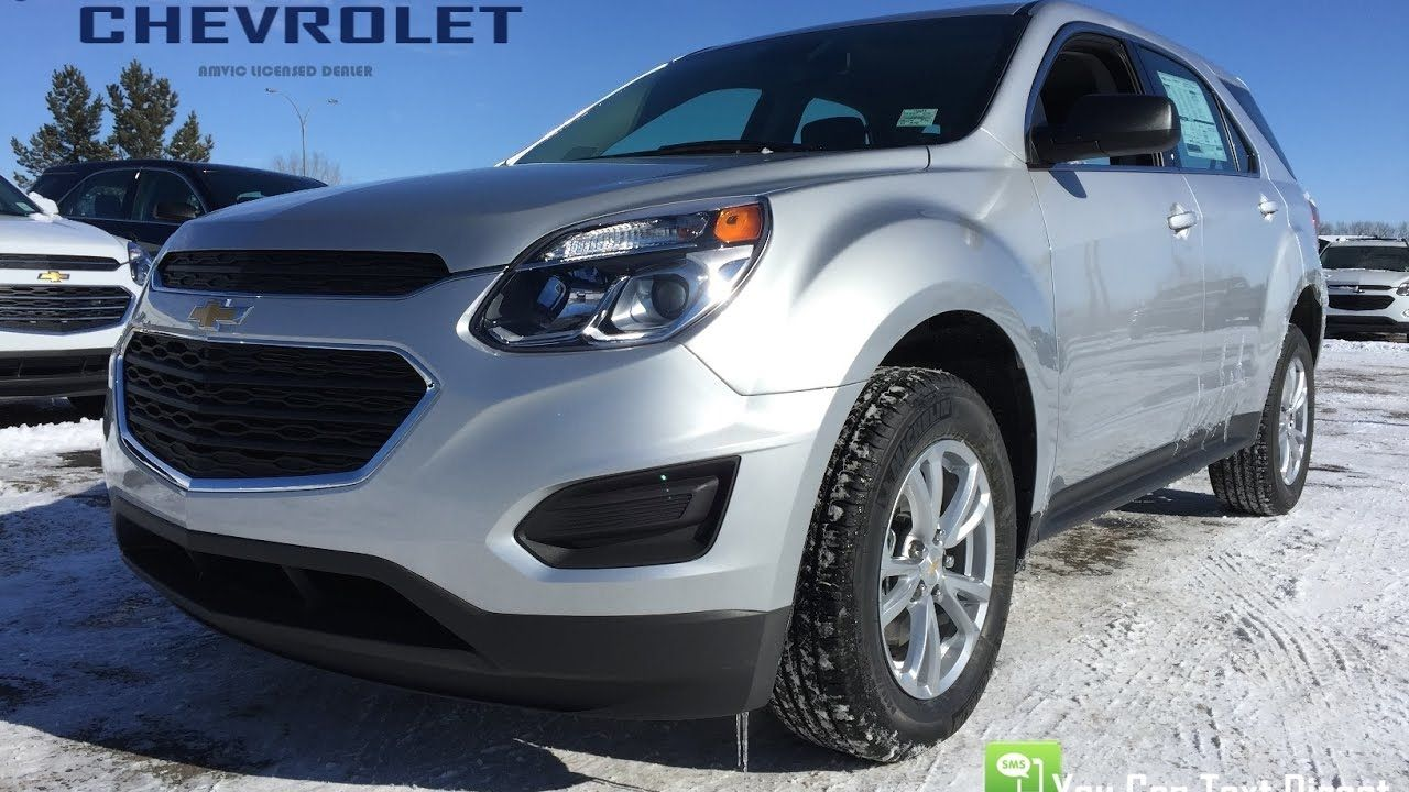 New 2017 Chevrolet Equinox For Sale Silver Awd Ls 17n098