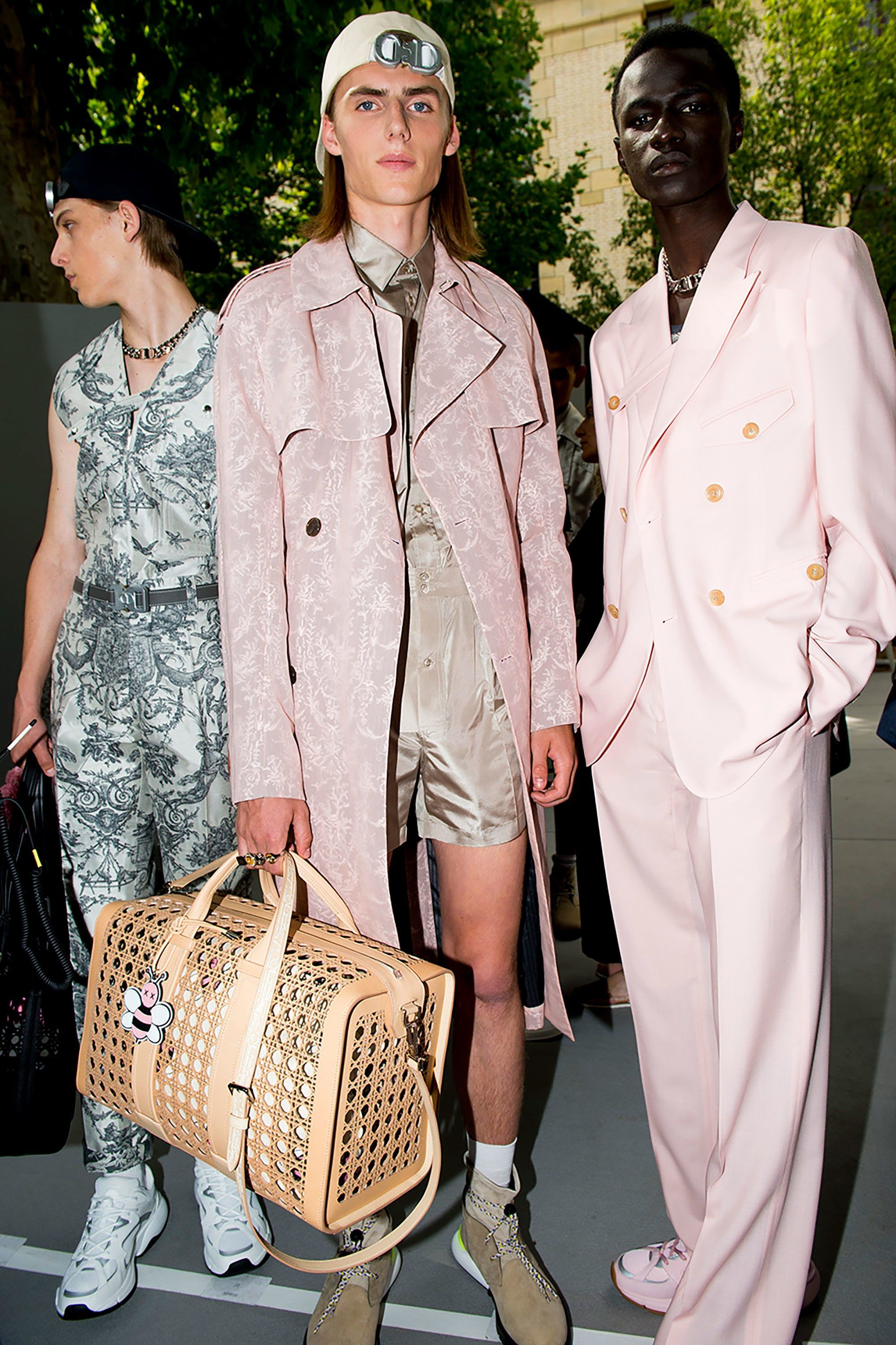 ebd48bbb9aa5 Go Backstage at Dior Homme and Louis Vuitton