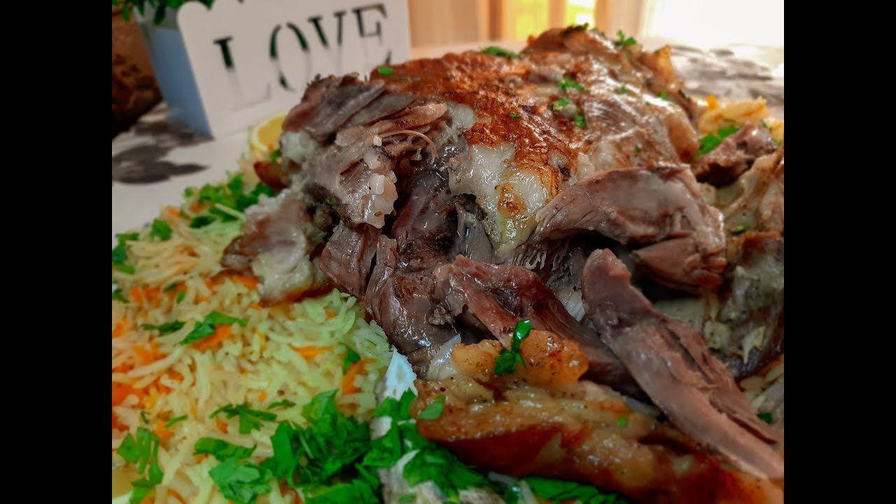 فخد خروف مشوي بالفرن على طريقه تركيه طريقه اكتر من رائعه وصفات رمضان Middle Eastern Recipes Yemeni Food Turkish Recipes