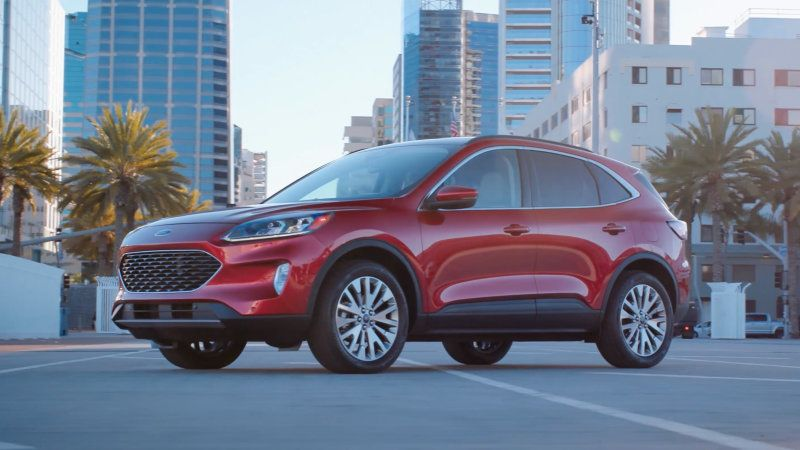 2020 Ford Escape Titanium Drivers Notes Living In Car Ford Car