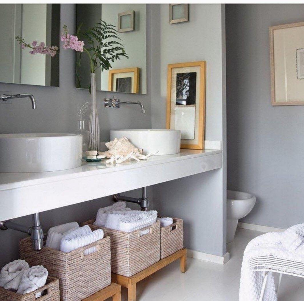 Pin by Myriam Floriani on Dpto. Chico | Diy bathroom decor ...