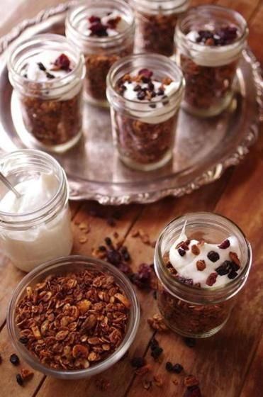 Recipe For Hotel Jerome Granola With Images Granola Recipes