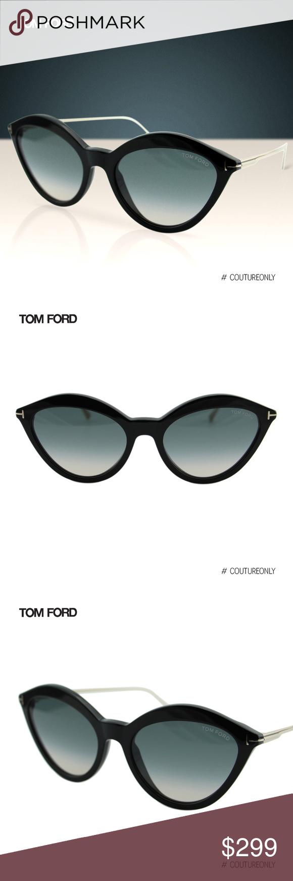 abd7399b52e6e New 2019 Tom Ford Chloe FT0663 Cat eye Sunglasses SKU  FT-0663-01B ...