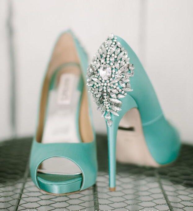 Tiffany Blue   фэш   Pinterest   Türkis, Brautschuhe und Mode für Frauen