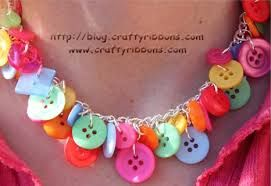 Image result for button jewellery