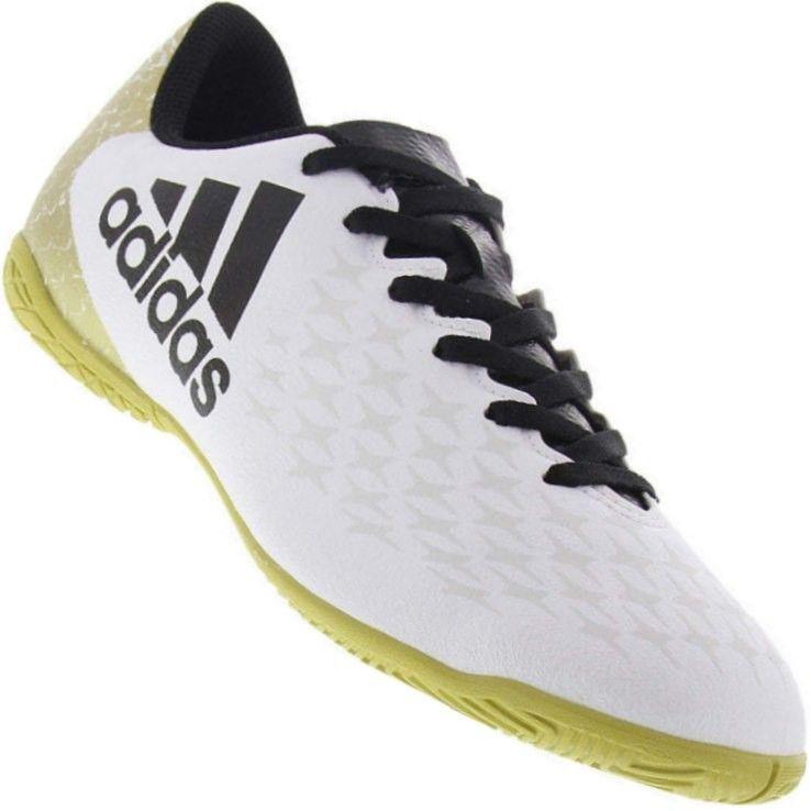 69ea58bba5 O Tênis Futsal da Adidas X 16.4 Indoor oferece excelentes Jogadas dentro de  quadra