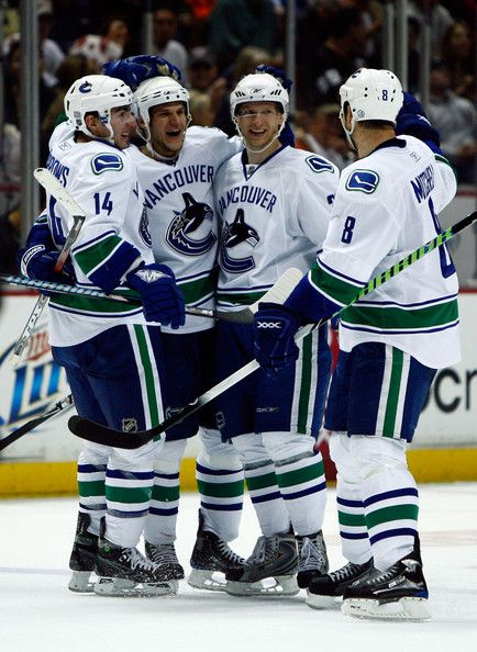 0820d553d Alex Burrows in Vancouver Canucks v Anaheim Ducks   the boys of ice ...