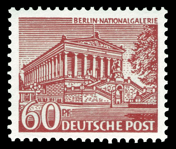 Deutsche Post Berlin 1949 Nationalgalerie (mit Bildern