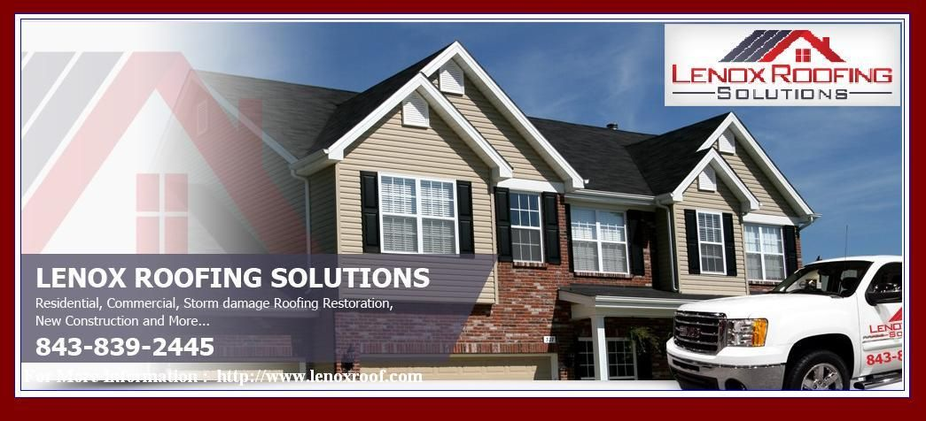 Florence Roofers Lenox Roofing Solutions Is A Full Service Roofing Company Specializing In Storm And Hail Damaged Roof Roofing Roof Repair Roofing Contractors