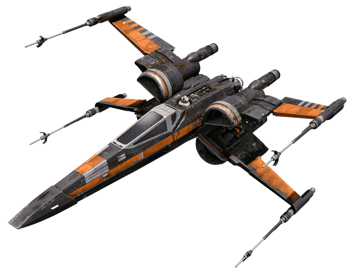Poe Dameron S X Wing Fighter