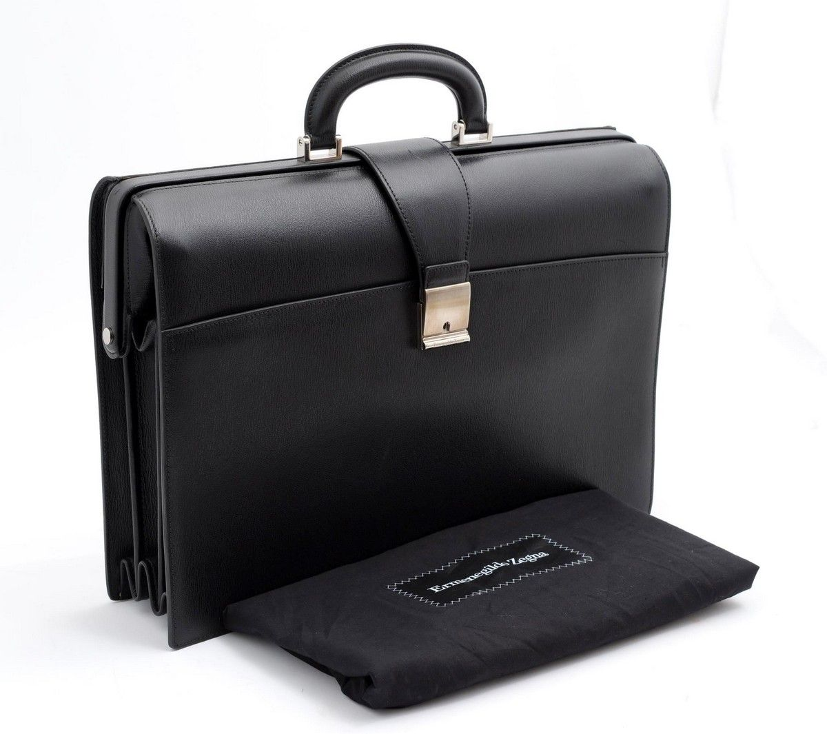 Ermenegildo Zegna Crafted Perfection In This Heritage Gladstone Leather Briefcase Bag Mens Designer Bag Mens Designer Fashion Leather Briefcase Bag