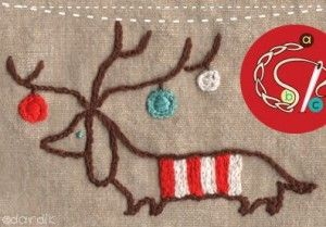 Free Christmas Embroidery Designs