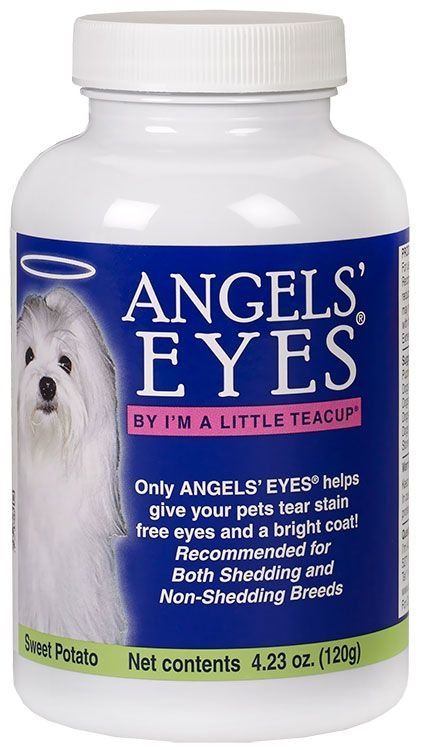 Angels Eyes Sweet Potato Flavor For Dogs 120 Gm Tear Stains Tears In Eyes Angel Eyes