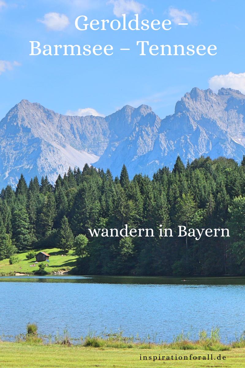 Geroldsee Barmsee Tennsee Einmalige Rundwanderung In Bayern Tagesausflug Bayern Wandern Bayern Wandern Deutschland
