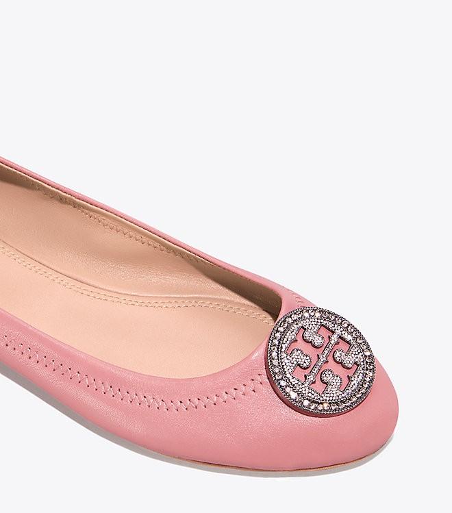 e55ffb87b Tory Burch Liana Ballet Flat - Pink Magnolia 5.5 | Products | Flats ...
