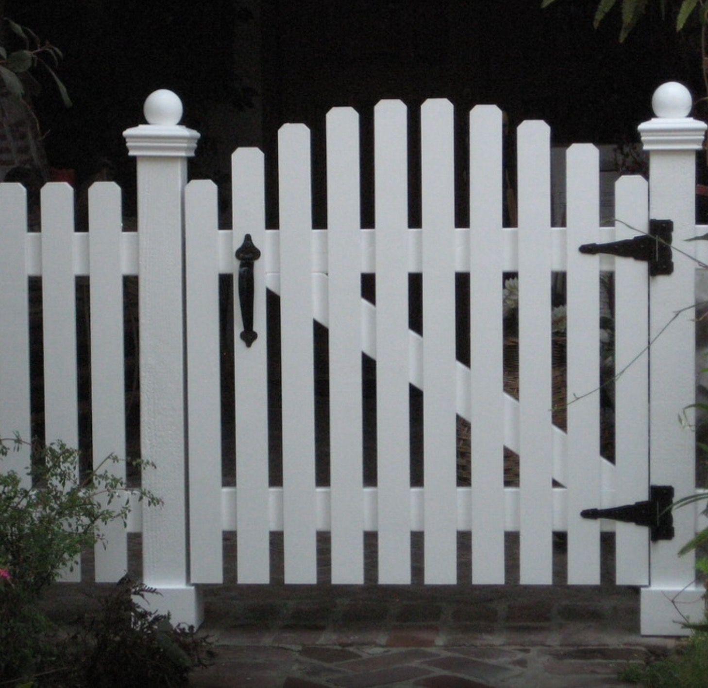 Picket Fence Gate Picket Fence Gate Fence Gate White Picket