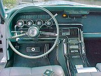 1966 Ford Thunderbird Green Interior 1966 Ford Thunderbird Ford
