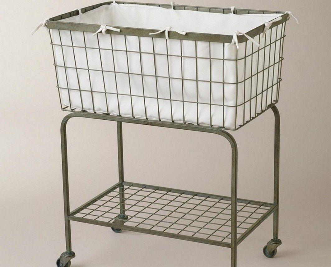 Laundry Carts On Wheels Ideas Laundry Basket On Wheels Laundry